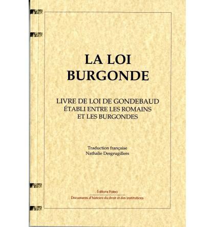 LA LOI BURGONDE