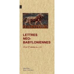 LETTRES NEO-BABYLONIENNES
