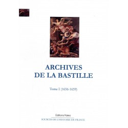 ARCHIVES DE LA BASTILLE