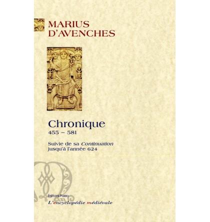 MARIUS D'AVENCHES