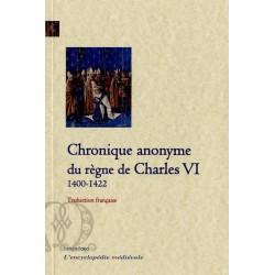 Chronique anonyme du règne de Charles VI