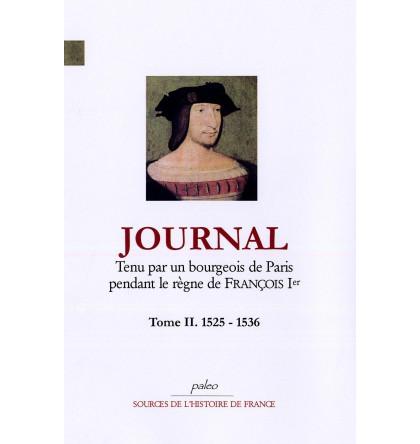 Journal du règne de François Ier.
