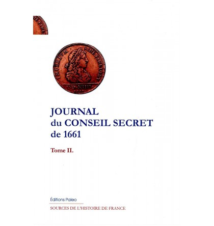 Journal du Conseil secret de 1661